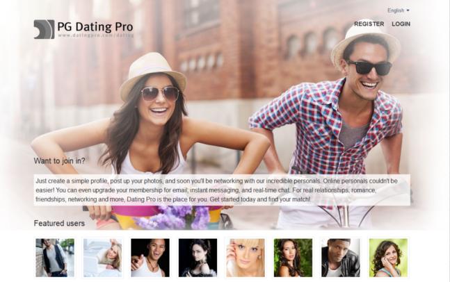 Конструктор сайтов знакомств PG Dating Pro 2014.4